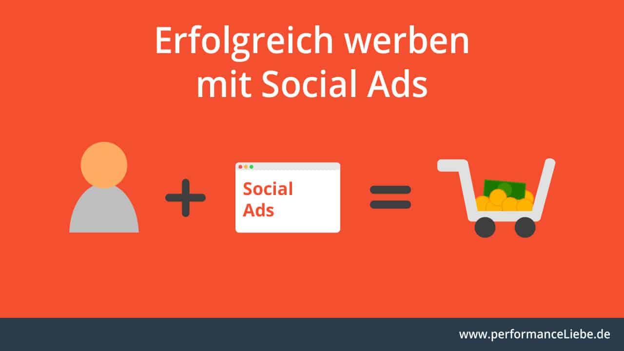 Erfolgreich werben mit Social Ads