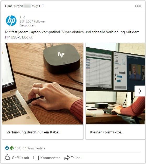 Präzises Zielgruppentargeting dank LinkedIn Ads