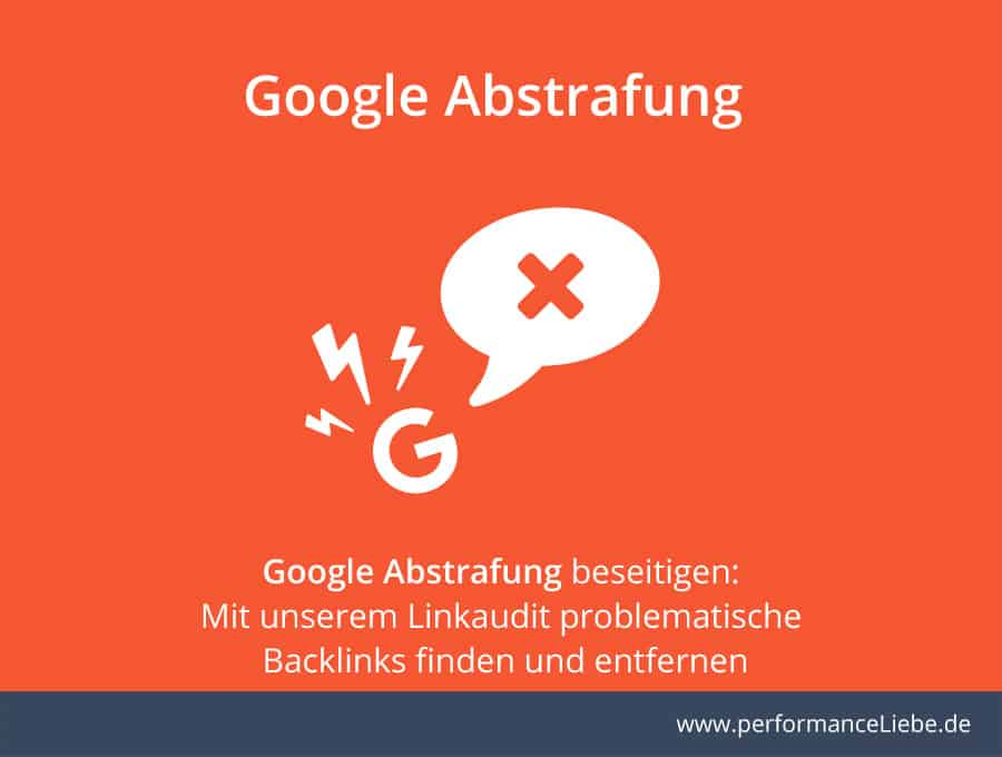 Linkaudit gegen Google Abstrafung